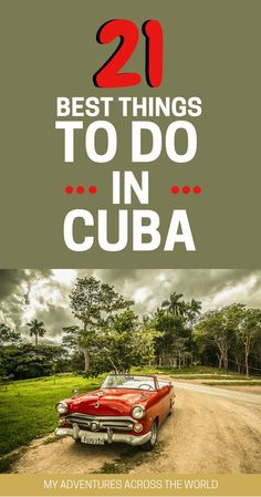 The ultimate guide to Cuba: all you ever need to know to plan the perfect Cuba trip in a comprehensive guide. | Cuba travel tips | Cuba Havana | Cuba travel beautiful places | What to do in Cuba | Things to do in Cuba | Where to stay in Cuba - via @clauta
