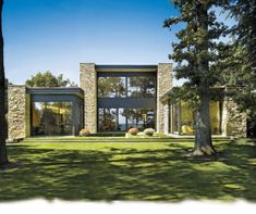 Contemporary Lakeside Home