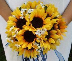 Pretty sunflower bouquet