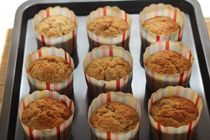 Banana and Maple Syrup Muffins Recipe -- Vermont Maid - Great tasting maple syrup! - www.vermontmaid.com #recipe #maplesyrup #vermontmaid