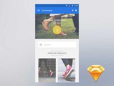 Free Material eCommerce App Elements UI kit - http://www.vectorarea.com/free-material-ecommerce-app-elements-ui-kit