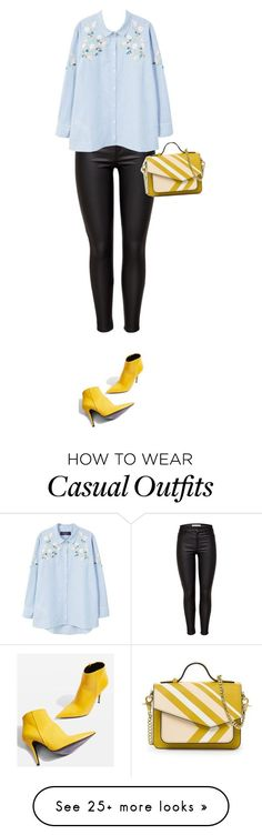 """""""Chic Casual"""" by stevie-pumpkin on Polyvore featuring JDY, MANGO and Topshop - https://sorihe.com/adidas/2018/02/22/chic-casual-by-stevie-pumpkin-on-polyvore-featuring-jdy-mango-and-topshop/"""