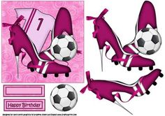 The sexy lady plays football on Craftsuprint - Add To Basket!