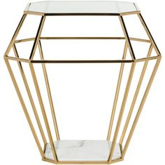 Abena Geometric End Table design by Safavieh ($780) ❤ liked on Polyvore featuring home, furniture, tables, accent tables, end tables, geometric side table, safavieh table, safavieh, safavieh furniture and polish furniture