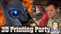 #VR #VRGames #Drone #Gaming Epic 3D printing party at Punished Props #3D, 2016, 3d print, 3d printer, 3d printers, 3d printing, 3d printing nerd, abs, barnacules nerdgasm, bill doran, bindi smalls, Borderlands, cnc, Cosplay, cosplay in public, cosplay tutorial, costume, designing, Destiny, diy, dremel, Drone Videos, fdm, form, form labs, Formlabs Form 2, gmax, how-to, iliketomakestuff, laser cutter, Lulzbot, Makerspace, mtg, phaser, PLA, Printing, prop making, props, punishe