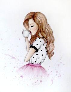make watercolor fashion illustrations by splashlook