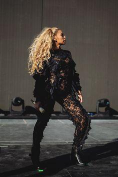 """girlsluvbeyonce: """"Formation World Tour in Santa Clara (Sep. 17) """""""