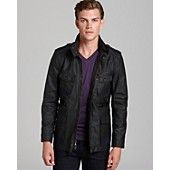 7 For All Mankind Wax Coated Field Jacket