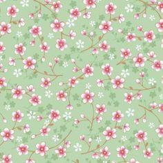 PI16 - Eijffinger PIP studio Cherry blossom groen