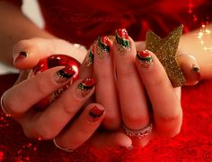 French Nail Art Trends for Christmas 2012