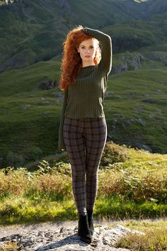 Scottish Highlands with Kirstie #redhead #ginger #redhair #natural #haircolor…