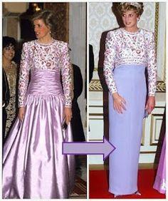 RoyalDish - Diana Photos - Diana Princess of Wales gowns!