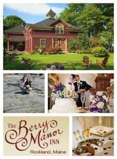 Is there a wedding in your future? We invite you to skip those wedding bill blues and elope to New England at Berry Manor Inn! #elope #maine