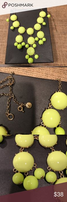 J crew Bubble Necklace Perfect Condition!! Fun and Cute! J. Crew Jewelry Necklaces