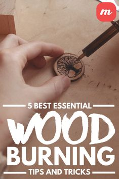 Learn 5 essential wood burning tips and tricks and discover why so many people love pyrography. Wood Burning Tips, Wood Burning Techniques, Wood Burning Crafts, Wood Crafts, Wood Projects, Woodworking Projects, Craft Projects, Craft Ideas, Diy Crafts For Kids