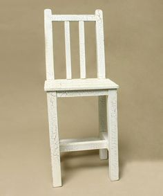 This Cream Tall Chair is perfect! #zulilyfinds