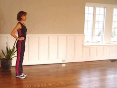 Tone your tush with walking lunges!