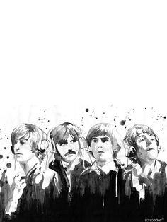 The Beatles Collection | Abduzeedo | Graphic Design Inspiration and Photoshop Tutorials. Poster, illustration.