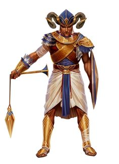 m Paladin of Osiris urban city Temple Male Human - PFRPG DND D&D ed Fantasy grounds Pathfinder Fantasy Character Design, Character Concept, Character Inspiration, Character Art, Dungeons And Dragons Characters, Fantasy Characters, Fantasy Rpg, Medieval Fantasy, Egypt Concept Art