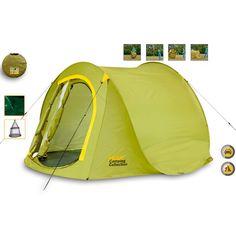 Campingzelt Easy Pop-Up Wurfzelt 2 Mann Outdoor Automatik Zelt Iglu wasserdicht