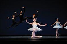Jennifer Stahl, San Francisco Ballet in Balanchine's 'Symphony in C'; © George Balanchine Trust; © Erik Tomasson