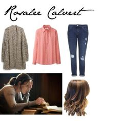 Designer Clothes, Shoes & Bags for Women Rosalee Calvert, Grimm, What I Wore, Cute Outfits, Shoe Bag, My Style, Hair Styles, Fiction, How To Wear