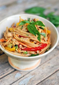 Spicy Peanut Chicken Salad
