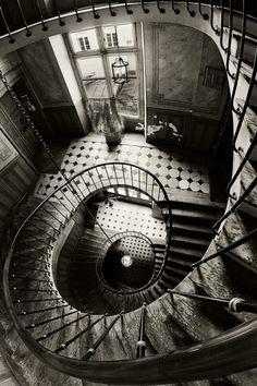 Existem escadas e escadas.