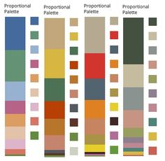Buoyant Spring/The Life of the Party Colours extracted from paintings by Matisse - see also Vivid Winter