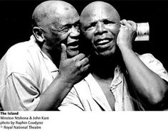 Legends of South African Theatre - John Kani and Winston Ntshona