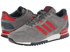 adidas Originals ZX 700 - Outdoor Dark Clay/Power Red/White Vapour - Zappos.com Free Shipping BOTH Ways