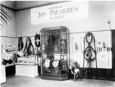 Palmgrens exhibiting at Liljevalchs in the 1920's.