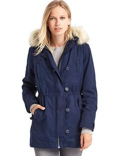 Diggin on this parka for the deep winter. I'm really not so much into the whole puffy jacket thing.