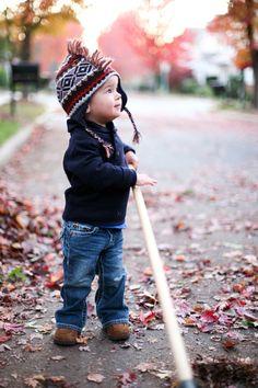 fall kids pics