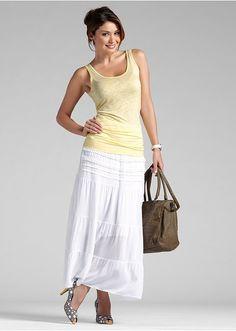 Długa spódnica Modna długa spódnica z • 119.99 zł • Bon prix
