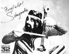 Svengoolie - Jerry Bishop.  We could only get this channel by using the channel lock pliers and turning the outside antenna toward Chicago.  Those were the days.