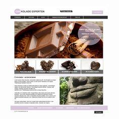 School Project - Chokoladeexperten.dk by Rene' Michael Nissen, via Behance