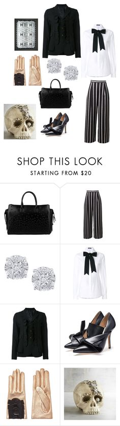 """""""Skull"""" by blumbeeno ❤ liked on Polyvore featuring Dsquared2, Effy Jewelry, Dolce&Gabbana, Comme des Garçons, Gucci and Pier 1 Imports"""