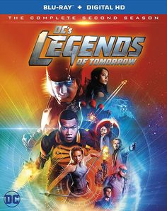 DC'S LEGENDS OF TOMORROW THE COMPLETE SECOND SEASON BLU-RAY (WARNER)