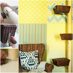 <p>Here are the things you will need: PVC pipe 2 wood discs slightly smaller in diameter than PVC pipe 1″ screws hot glue gun and sticks hack saw or reciprocating saw three 8×10 angle brackets 1/2″ drill bit drill 3/8″ rope #10 wood screws 3 wicker baskets Source: http://www.hgtv.com/decorating-basics/how-to-make-a-cat-condo/index.html >>> …</p>