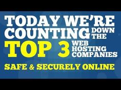 http://www.youtube.com/watch?v=eU3hRb7HJdM - Best Web Hosting Looking for the best web hosting company, but don't know who to choose? Well then you need to check this video out! https://www.facebook.com/bestfiver/posts/1426456914233946