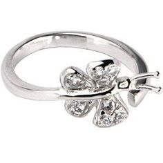 Beautiful Butterly Paved Silver Toe Ring… Unique design