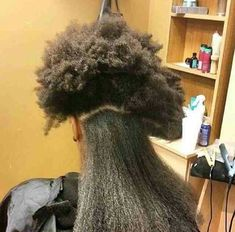 That's Some Serious Shrinkage... - http://www.blackhairinformation.com/community/hairstyle-gallery/natural-hairstyles/thats-serious-shrinkage/ #naturalhair #shrinkage