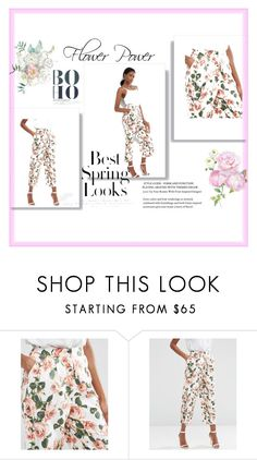 """""""Floral"""" by grevolus ❤ liked on Polyvore featuring ASOS and H&M"""
