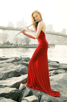 Red dress - gorgeous