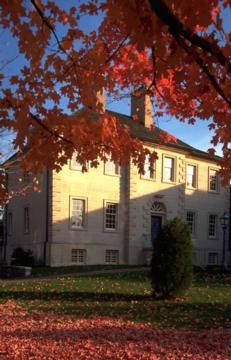 Carlyle House in the Fall - Alexandria, VA