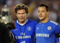 Will Ferrell is a fan of Chelsea FC