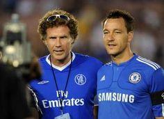 Will Ferrell is a fan of Chelsea FC