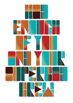 Typography by Steven Bonner
