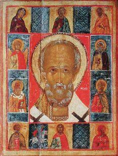 Religious Images, Religious Icons, Russian Icons, Best Icons, Byzantine Icons, Saint Nicholas, Orthodox Icons, Illuminated Manuscript, Deities